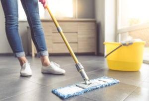 Privat rengøring af dit hjem