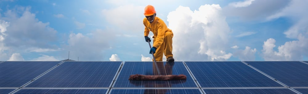 Rengøring af solcelleanlæg - Lillegaard